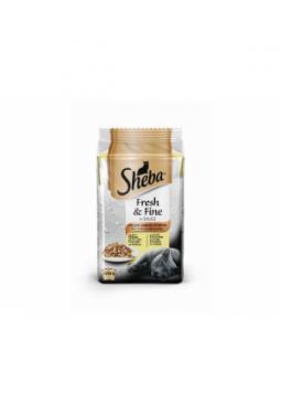 Sheba Nassfutter Fresh & Fine Sauce