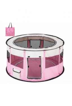 Welpenlaufstall Carola pink