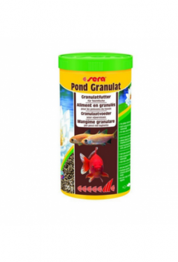 sera Fischfutter Pond Granulat 1l