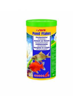 sera Fischfutter Pond Flakes 1l