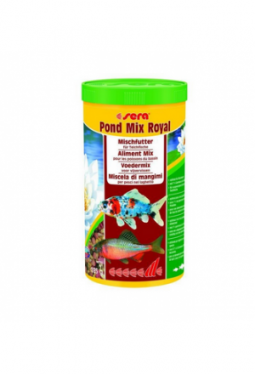 sera Fischfutter Pond Mix Royal 1l