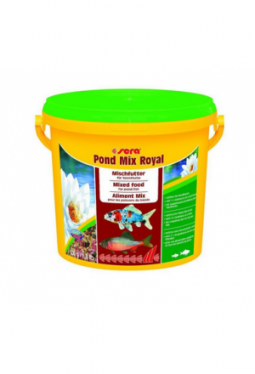 sera Fischfutter Pond Mix Royal 3.8l