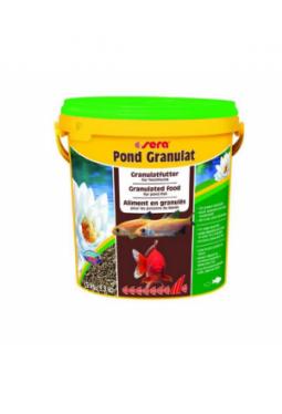 sera Fischfutter Pond Granulat 10l