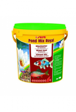 sera Fischfutter Pond Mix Royal 10l