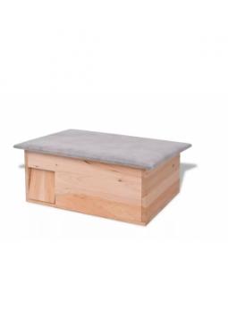 Igelhaus 45x33x22 cm Holz