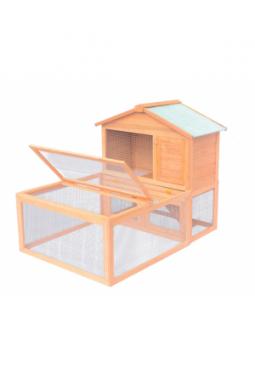 Kleintier-/Kaninchenstall Holz