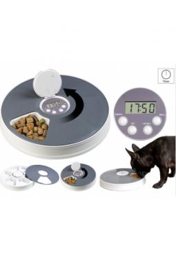 6-fach-Katzen- & Hunde-Futterspender, ..