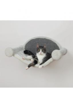 Katzen-Hängematte 54x28x33 cm Cremefar..