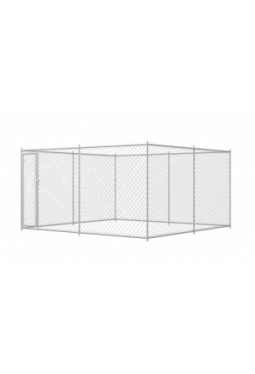Outdoor-Hundezwinger 4 x 4 x 2 m