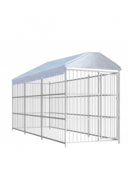 Hundezwinger mit Überdachung 450×150×2..