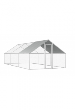 Hühnerkäfig 2,75x6x2 m Verzinkter Stahl
