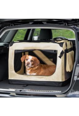 Hundebox faltbar XL / 80,5 x 58,5 x 5..