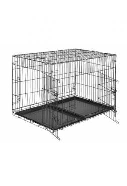 Hundebox Gitter tragbar 106 x 70 x 76..