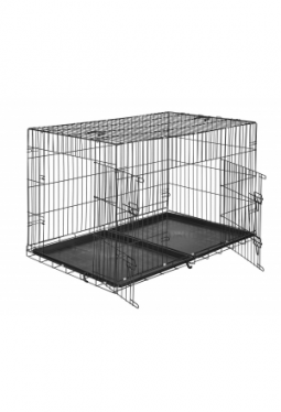 Hundebox Gitter tragbar 122 x 76 x 81..