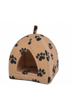 Katzenhöhle Größe L Beige