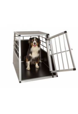 Hundetransportbox single 65 x 90 x 69,5cm it gerader Rückwand
