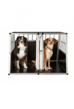 Hundetransportbox doppel ohne Trennwand
