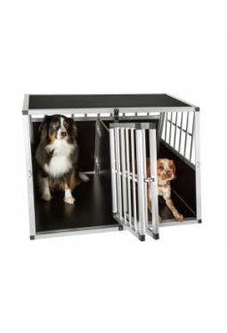 Hundetransportbox doppel mit Trennwand
